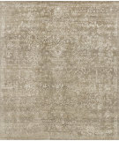 RugStudio presents Loloi Pearl Pu-03 Stone - Pewter Hand-Knotted, Good Quality Area Rug