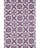 RugStudio presents Loloi Piper Pi-03 Plum Fairies Machine Woven, Good Quality Area Rug