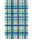 RugStudio presents Loloi Piper PI-11 Blue / Green Machine Woven, Good Quality Area Rug
