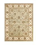 RugStudio presents Loloi Park Lane PL-03 Light Green Ivory Hand-Tufted, Best Quality Area Rug
