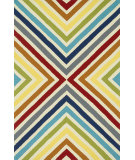 RugStudio presents Rugstudio Sample Sale 102614R Multi Hand-Hooked Area Rug