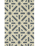 RugStudio presents Loloi Palm Springs Pm-04 Slate / Taupe Hand-Hooked Area Rug