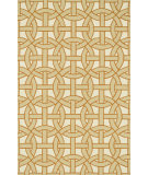 RugStudio presents Loloi Palm Springs Pm-06 Beige / Orange Hand-Hooked Area Rug