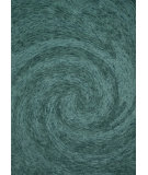 RugStudio presents Rugstudio Sample Sale 93970R Emerald Hand-Tufted, Best Quality Area Rug