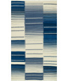 RugStudio presents Loloi Rio Ri-01 Blue Woven Area Rug