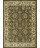 RugStudio presents Loloi Rylan Rl-04 Brown / Ivory Machine Woven, Good Quality Area Rug