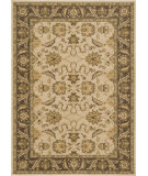 RugStudio presents Loloi Rylan Rl-04 Ivory / Brown Machine Woven, Good Quality Area Rug