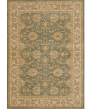 RugStudio presents Loloi Rylan Rl-04 Turquoise / Ivory Machine Woven, Good Quality Area Rug