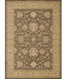 RugStudio presents Loloi Rylan Rl-05 Brown / Light Gold Machine Woven, Good Quality Area Rug