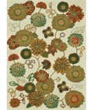 RugStudio presents Loloi Riviera Rv-03 Ivory / Multi Machine Woven, Best Quality Area Rug