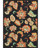 RugStudio presents Loloi Riviera Rv-09 Black / Multi Machine Woven, Best Quality Area Rug