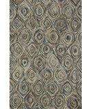 RugStudio presents Loloi Rowan Rw-02 Charcoal / Brown Area Rug