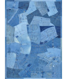 RugStudio presents Loloi Runway RY-03 Denim Shots Woven Area Rug