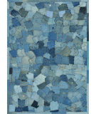 RugStudio presents Loloi Runway RY-04 Denim Pockets Area Rug