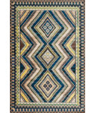 RugStudio presents Loloi Sierra SB-03 Blue / Multi Machine Woven, Good Quality Area Rug