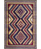 RugStudio presents Loloi Sierra SB-03 Pink / Multi Machine Woven, Good Quality Area Rug
