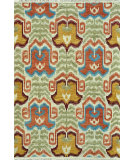 RugStudio presents Loloi Spencer Sc-03 Hm Collection Ivory / Coastal Hand-Knotted, Good Quality Area Rug