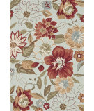 RugStudio presents Loloi Summerton Sumrsrs04 Mist/Red Area Rug