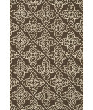 RugStudio presents Rugstudio Sample Sale 81121R Brown / Ivory Hand-Hooked Area Rug