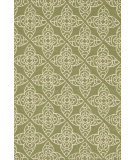 RugStudio presents Loloi Summerton Sumrsrs05 Green/Ivory Hand-Hooked Area Rug