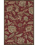 RugStudio presents Loloi Summerton Sumrsrs07 Red Hand-Hooked Area Rug