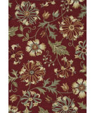 RugStudio presents Loloi Summerton Sumrsrs10 Wine Hand-Hooked Area Rug