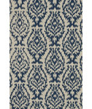 RugStudio presents Loloi Summerton Sumrsrs13 Ivory/Denim Hand-Hooked Area Rug
