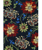 RugStudio presents Loloi Sunshine SS-03 Black Hand-Hooked Area Rug