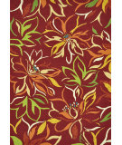 RugStudio presents Loloi Sunshine SS-06 Crimson Hand-Hooked Area Rug