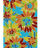 RugStudio presents Loloi Sunshine SS-07 Aquarius Hand-Hooked Area Rug