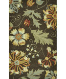 RugStudio presents Loloi Summerton Sumrssc13 Brown Hand-Hooked Area Rug