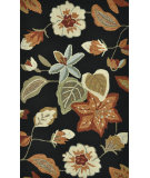 RugStudio presents Loloi Summerton Sumrssc19 Black/Rust Hand-Hooked Area Rug