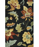 RugStudio presents Loloi Summerton Sumrssc21 Black Hand-Hooked Area Rug