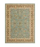 RugStudio presents Rugstudio Sample Sale 22219R Blue Brown Machine Woven, Better Quality Area Rug