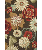RugStudio presents Loloi Summerton Sumrssc16 Chestnut Hand-Hooked Area Rug