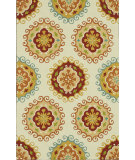 RugStudio presents Loloi Sunshine Ss-08 Ivory / Multi Hand-Hooked Area Rug