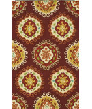 RugStudio presents Loloi Sunshine Ss-08 Red / Multi Hand-Hooked Area Rug