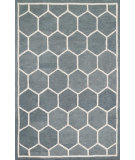 RugStudio presents Loloi Stephanie SW-03 Charcoal / Ivory Hand-Hooked Area Rug