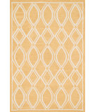 RugStudio presents Loloi Stephanie SW-04 Gold / Ivory Hand-Hooked Area Rug