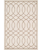RugStudio presents Loloi Stephanie SW-06 Ivory / Taupe Hand-Hooked Area Rug