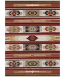 RugStudio presents Loloi Taos TO-02 Ivory / Multi Hand-Hooked Area Rug