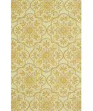 RugStudio presents Rugstudio Sample Sale 92326R Ivory / Buttercup Hand-Hooked Area Rug