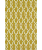 RugStudio presents Loloi Venice Beach Vb-08 Goldenrod / Ivory Hand-Hooked Area Rug