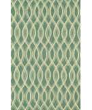 RugStudio presents Loloi Venice Beach Vb-10 Turquoise / Ivory Hand-Hooked Area Rug