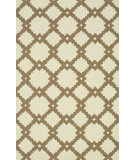 RugStudio presents Loloi Venice Beach Vb-14 Ivory / Taupe Hand-Hooked Area Rug