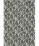 RugStudio presents Loloi Venice Beach Vb-15 Ivory / Black Hand-Hooked Area Rug