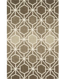 RugStudio presents Loloi Venice Beach VB-19 Brown / Beige Hand-Hooked Area Rug