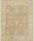 RugStudio presents Loloi Vincent Vc-02 Moss Gray - Stone Hand-Knotted, Best Quality Area Rug