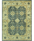 RugStudio presents Loloi Vernon Vn-01 Estate Blue / Ivory Hand-Knotted, Good Quality Area Rug