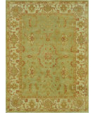 RugStudio presents Loloi Vernon Vn-02 Olive / Light Green Hand-Knotted, Good Quality Area Rug